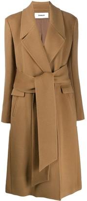 Chalayan Wrap Belt coat