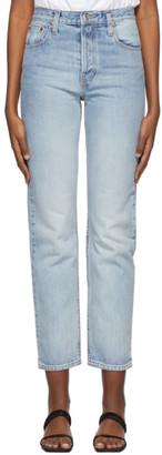 Esse Studios Blue Rigid Jeans