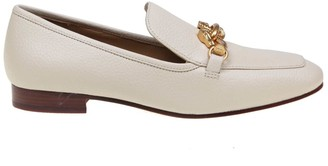 Tory Burch Loafer Jessa In Hammered Leather Color Milk