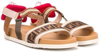 Fendi TEEN FF strap sandals