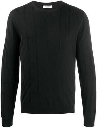Valentino VLTN jacquard jumper