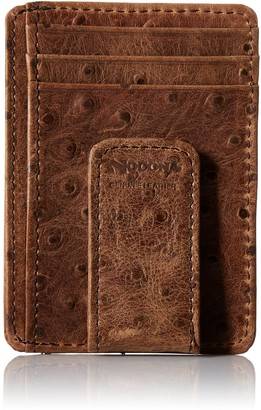 Nocona Men's Brown Ostrich Magnet Money
