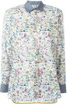 Paul Smith floral print shirt - women - Cotton/Cupro - 38