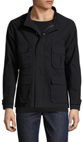 Shades of Grey by Micah Cohen Solid Patch Pocket Field Jacket
