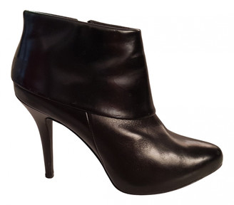 Minelli Black Patent leather Ankle boots