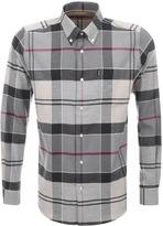 Barbour John Tartan Shirt Grey