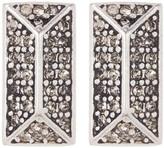 Rebecca Minkoff Rectangle Stud Earrings