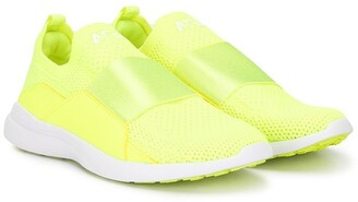 APL Athletic Propulsion Labs Mesh-Upper Slip-On Sneakers