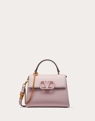 Valentino Garavani Small Vsling Grainy Calfskin Handbag Women Rose Quartz 100% Pelle Di Vitello - Bos Taurus OneSize