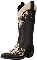 AdTec Women's 13 Inch Western Pull On Studs Work Boot