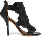 Givenchy Rojda Sandals In Black Leather - IT35