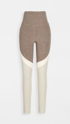 Beyond Yoga Tri Panel High Waisted Leggings