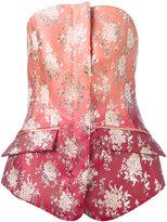 Antonio Berardi tailored bandeau top
