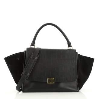 Celine Trapeze Black Exotic leathers Handbags