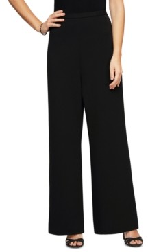 Alex Evenings Petite Wide-Leg Pants