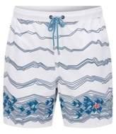 HUGO BOSS Quick Dry Swim Trunk Anemonefish S Open White
