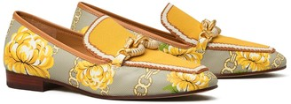 Tory Burch Jessa Printed Knit Loafer
