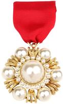 Ben-Amun Regalia Pearl Medal Pin
