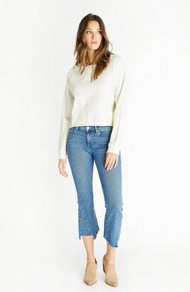 ÉTICA Micki Cropped Distressed Jeans