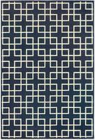 "Oriental Weavers Ellerson Crosswalk Navy 9'10"" x 12'10"" Area Rug"