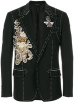 Dolce & Gabbana embroidered applique jacket