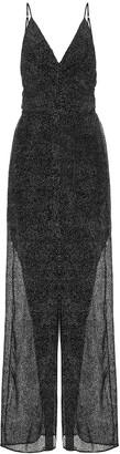 Jonathan Simkhai Printed silk-blend jumpsuit