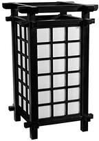 "Oriental Furniture 17"" Ido Lamp - Black"