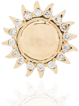 Loquet 18kt Yellow Gold Enamel Sun Charm