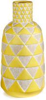 Distinctly Home Ceramic Triangle Vase