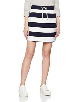 Gant Women's O1. Barstriped Heavy Rugger Skirt (Evening Blue 433), M