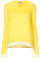 MSGM stripe detail jumper