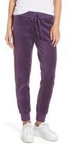 Juicy Couture Women's Zuma Velour Track Pants