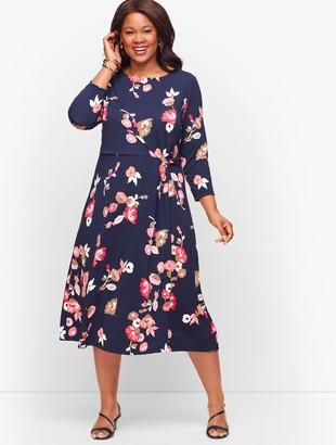Talbots Jersey Midi Dress