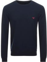 Giorgio Armani Emporio Loungewear Sweatshirt Navy