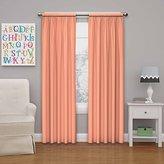 "Eclipse Curtains Eclipse Kids Microfiber Room Darkening Window Curtain Panel, 42x95"", Papaya"