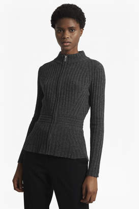French Connection Lilan Knitted Zip Through Cardigan
