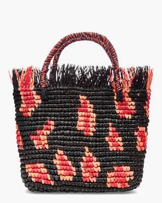 Sunseeker Sensi Studio Canasta Mexicana Frayed Medium Handbag