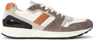Polo Ralph Lauren Grey Rainer Nylon Low-Top Sneakers