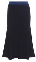Victoria Beckham Knitted Wool-blend Skirt