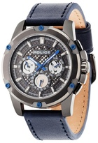 Police Grid Multifunction Strap Watch