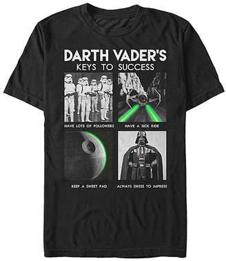 Fifth Sun Tee Shirts BLACK - Star Wars Black 'Keys to Sucess' Tee - Adult
