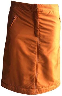 Alberta Ferretti Orange Skirt for Women Vintage