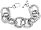 West Coast Jewelry Stainless Steel Large Link Bracelet