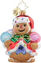 Christopher Radko Ginger Sweet Claus Gem Ornament