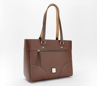 Dooney & Bourke Beacon Leather Zip-Top Large Tote - Mila
