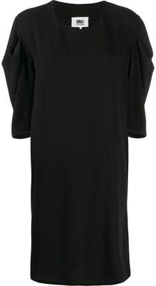 MM6 MAISON MARGIELA fold pleat sleeve dress
