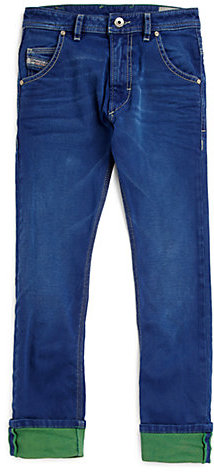 Diesel Boy's Colored Jeans