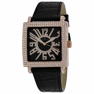 Lumina Christian Van Sant Women's Stainless Steel Quartz Leather Strap