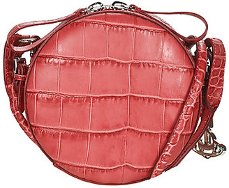 Vivienne Westwood JOHANNA ROUND CROSSBODY BAG women's Shoulder Bag in Red