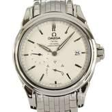 Omega De Ville White Steel Watches
